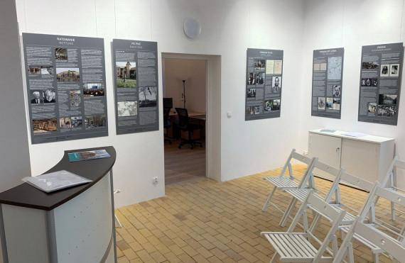 Die Geschichte des Schlosses Steinort bis 1945, Ausstellung im Infozentrum im Schloss Sztynort. Foto: W. Jäger, Radebeul